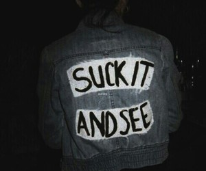 arctic monkeys, grunge, and suck it and see image
