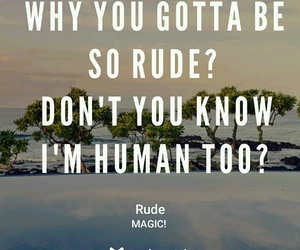 magic!, songs, and rude image