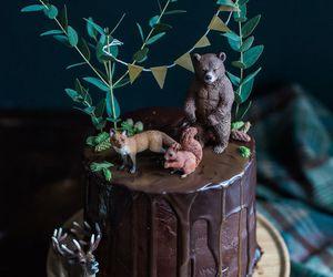 birthday, cake, and wood image