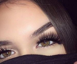 girl and eyes image