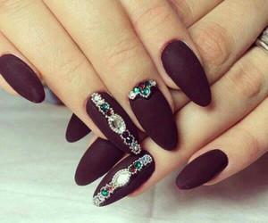nail art, nails, and nail design image