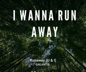 music, runaway, and songs image
