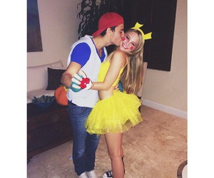 couple, costume, and Halloween image