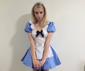girl, costume, and alice in wonderland image