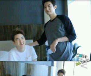 exo, chanyeol, and kyungsoo image