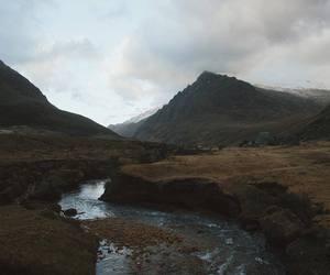 adventure, landscape, and creek image