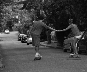 couple and skate image