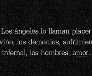 love, demonios, and Angeles image