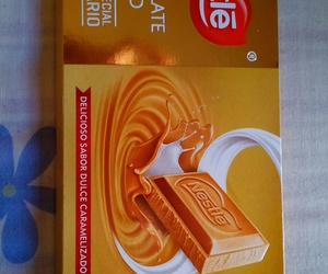 blonde, chocolate, and food image
