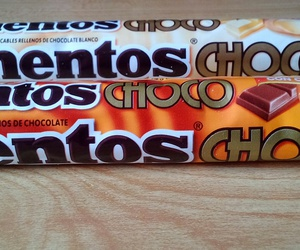 candy, mentos, and chocolate image