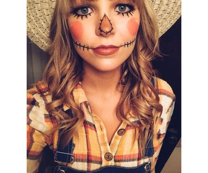 costume, Halloween, and makeup image