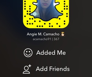 follow and snapchat image