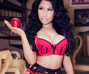 bra, fruit, and nails image