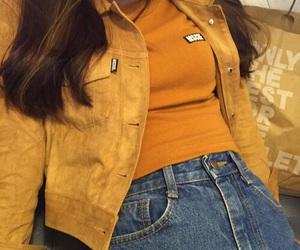 yellow, fashion, and girl image