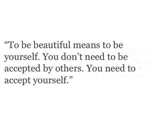 accept, true, and yourself image