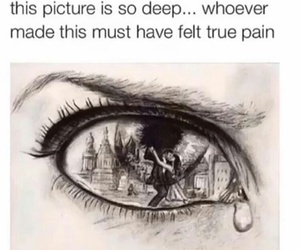 pain, sad, and deep image