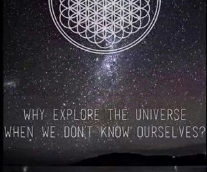universe, bring me the horizon, and bmth image