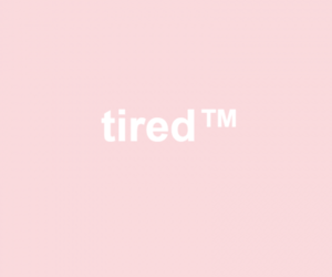 tired, pastel, and pink image