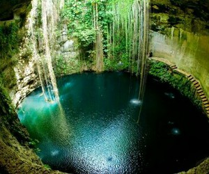 nature, water, and mexico image
