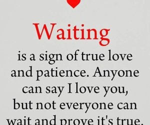 patience, waiting, and sex image