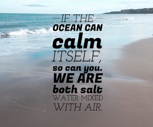 beach, ocean, and relax image