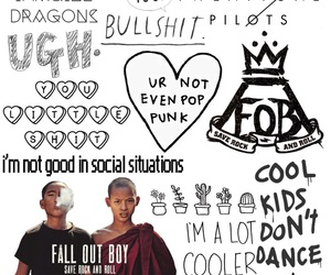 bands, internet, and pop punk image