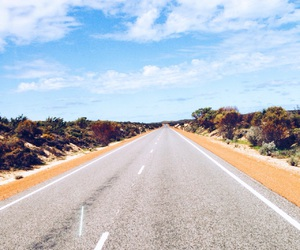 australia, trip, and road image