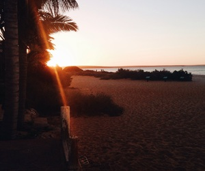australia, beach, and sunset image