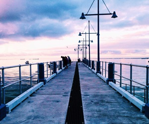 bridge, colorful, and foreshore image