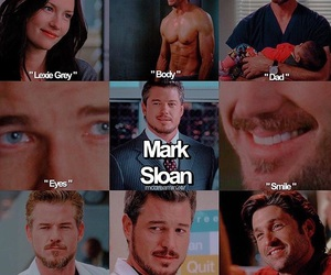 body, grey's anatomy, and mark sloan image