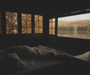 autumn, sleep, and bed image