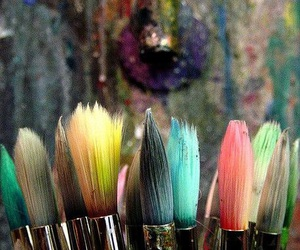 art, colorful, and art supplies image