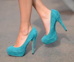 blue, blue shoes, and girl image