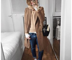 outfit, coat, and fashion image