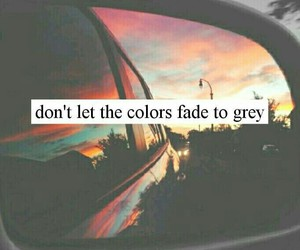 quotes, colors, and grey image