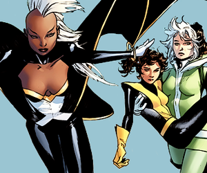 aesthetic, shadowcat, and storm image
