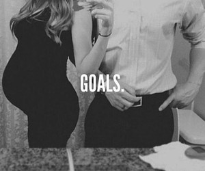 baby, pregnant, and relationship goals image