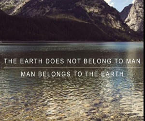 earth, man, and nature image