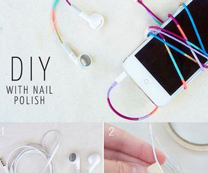 diy, headphones, and earphones image