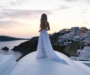 fashion, dress, and travel image