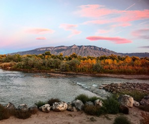 albuquerque, hiking, and mountains image