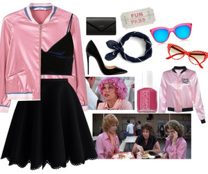 clothes, costume, and grease image