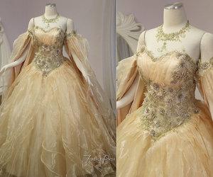 fantasy, wedding, and dress image
