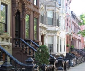 house, city, and new york image