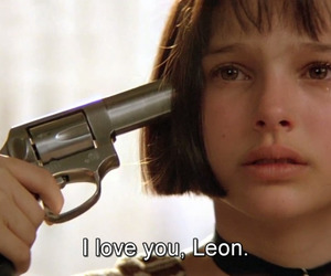 leon, natalie portman, and movie image