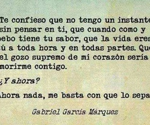 frases, gabriel garcia marquez, and español image