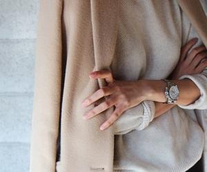 autumn, coat, and luxury image