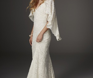 boho, gown, and indie image