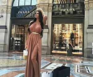 fashion, dress, and Prada image