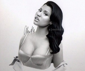 celeb, black and white, and drawings image